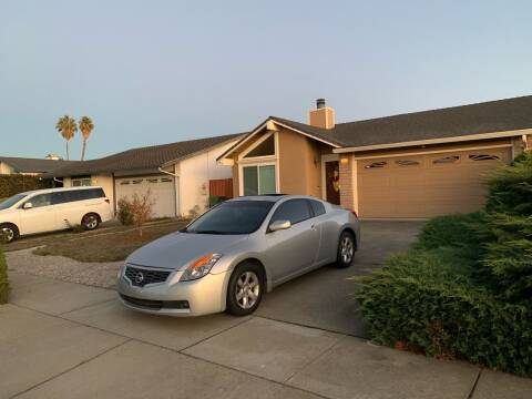 2008 Nissan Altima for sale at Blue Eagle Motors in Fremont CA