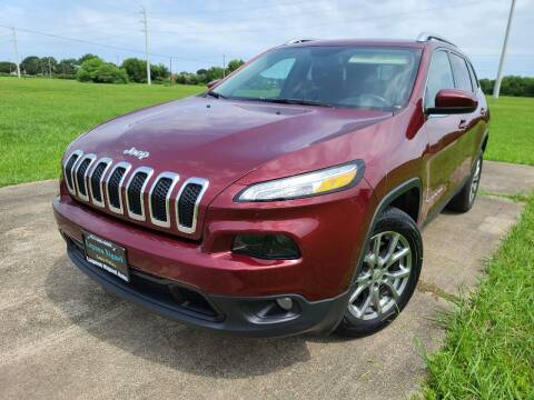 2018 Jeep Cherokee for sale at Laguna Niguel in Rosenberg TX