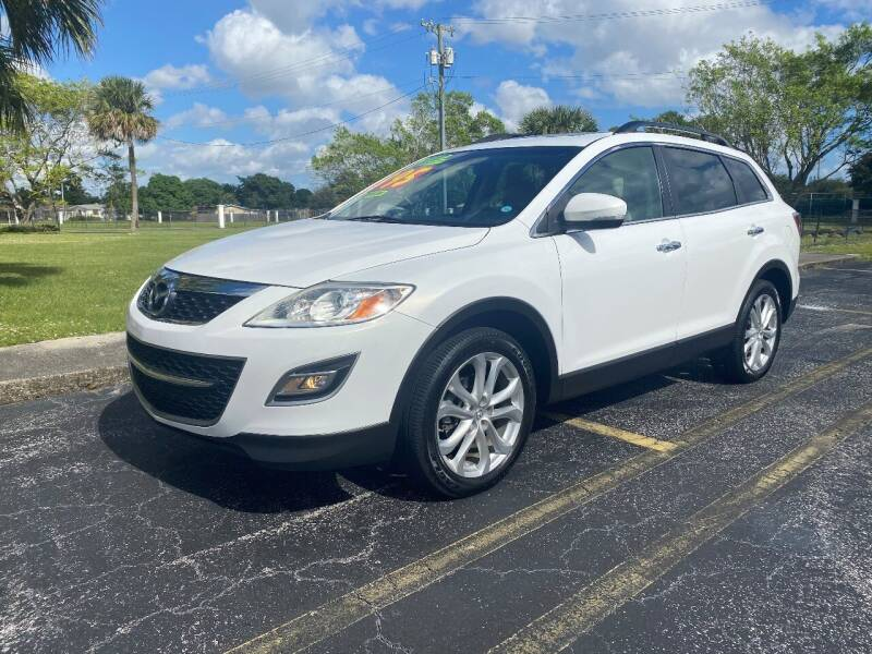 2012 Mazda CX-9 for sale at Lamberti Auto Collection in Plantation FL