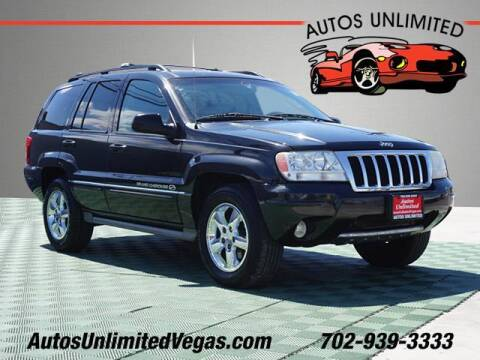 2004 Jeep Grand Cherokee for sale at Autos Unlimited in Las Vegas NV
