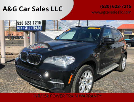 2012 BMW X5 for sale at A&G Car Sales  LLC in Tucson AZ