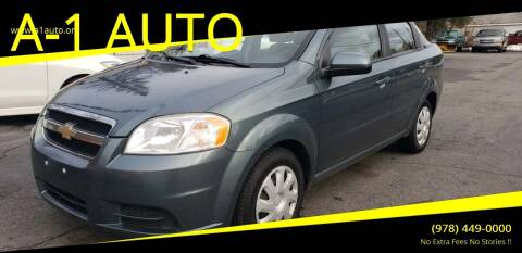 2010 Chevrolet Aveo for sale at A-1 Auto in Pepperell MA