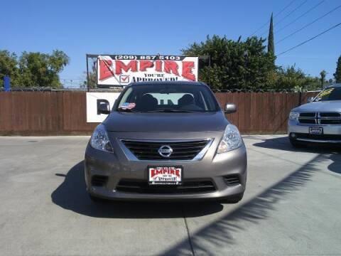2014 Nissan Versa for sale at Empire Auto Sales in Modesto CA