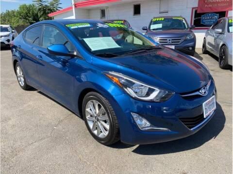 2015 Hyundai Elantra for sale at Dealers Choice Inc in Farmersville CA