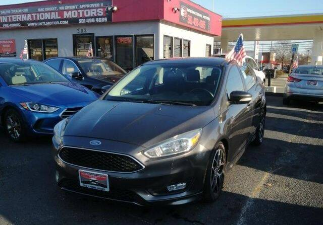 2015 Ford Focus for sale at International Motors in Laurel MD