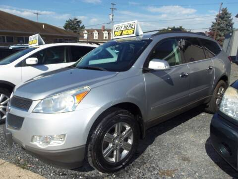 2012 Chevrolet Traverse for sale at Fulmer Auto Cycle Sales - Fulmer Auto Sales in Easton PA