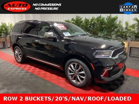 2021 Dodge Durango for sale at Auto Express in Lafayette IN