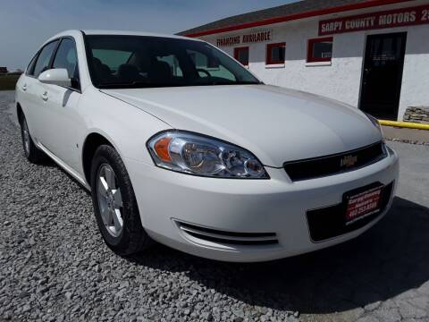 2008 Chevrolet Impala for sale at Sarpy County Motors in Springfield NE
