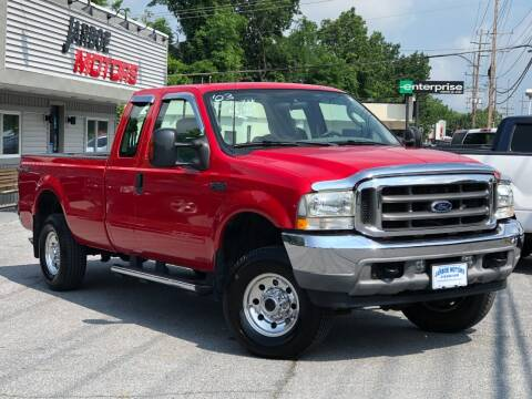 2003 Ford F-250 Super Duty for sale at Jarboe Motors in Westminster MD