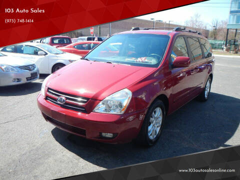 2007 Kia Sedona for sale at 103 Auto Sales in Bloomfield NJ
