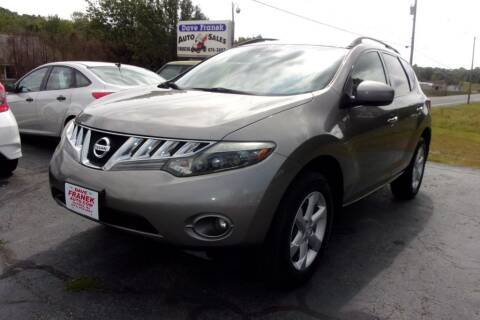 2009 Nissan Murano for sale at Dave Franek Automotive in Wantage NJ