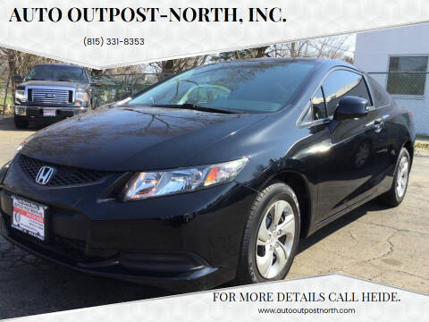 2013 Honda Civic for sale at Auto Outpost-North, Inc. in McHenry IL