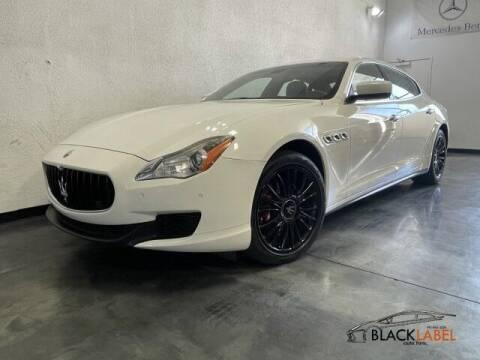 2014 Maserati Quattroporte for sale at BLACK LABEL AUTO FIRM in Riverside CA