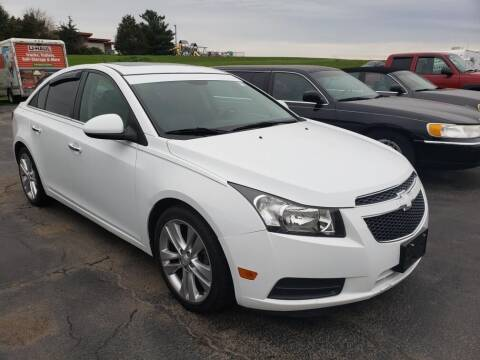2011 Chevrolet Cruze for sale at Tumbleson Automotive in Kewanee IL