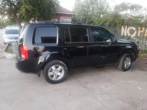 2009 Honda Pilot for sale at El Jasho Motors in Grand Prairie TX