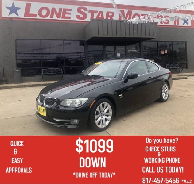 2011 BMW 3 Series for sale at LONE STAR MOTORS II in Fort Worth TX
