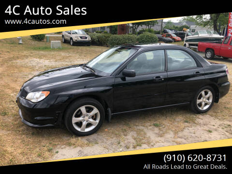 2007 Subaru Impreza for sale at 4C Auto Sales in Wilmington NC