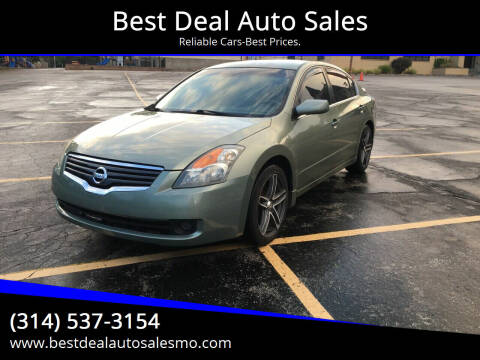 2008 Nissan Altima for sale at Best Deal Auto Sales in Saint Charles MO