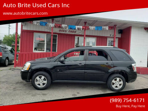 2009 Chevrolet Equinox for sale at Auto Brite Used Cars Inc in Saginaw MI