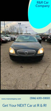 2009 Buick Lucerne for sale at R&R Car Company in Mount Clemens MI