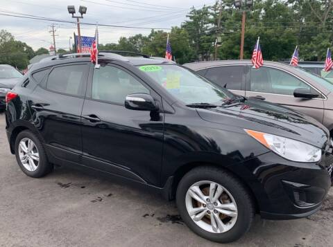 2012 Hyundai Tucson for sale at Primary Motors Inc in Commack NY