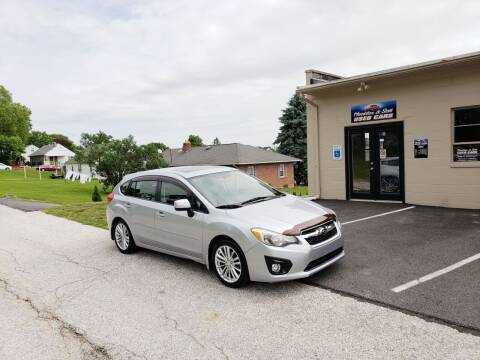 2012 Subaru Impreza for sale at Hackler & Son Used Cars in Red Lion PA