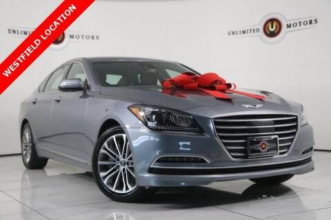 2017 Genesis G80 for sale at INDY'S UNLIMITED MOTORS - UNLIMITED MOTORS in Westfield IN