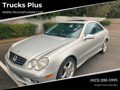 2004 Mercedes-Benz CLK for sale at Trucks Plus in Seattle WA