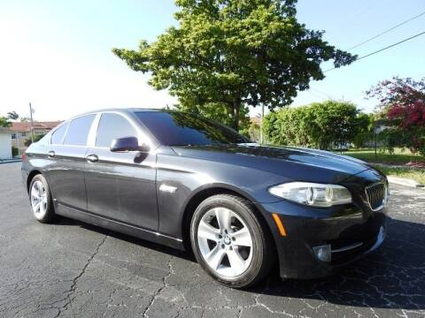 2013 BMW 5 Series for sale at SUPER DEAL MOTORS 441 in Hollywood FL
