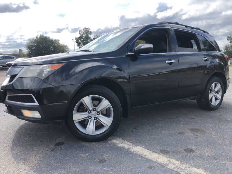 2010 Acura MDX for sale at Beckham's Used Cars in Milledgeville GA