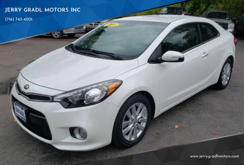 2016 Kia Forte Koup for sale at JERRY GRADL MOTORS INC in North Tonawanda NY
