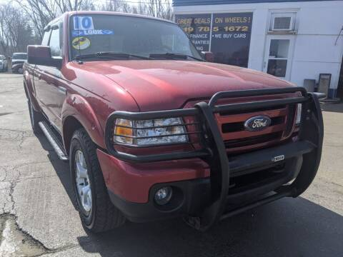 2010 Ford Ranger for sale at GREAT DEALS ON WHEELS in Michigan City IN