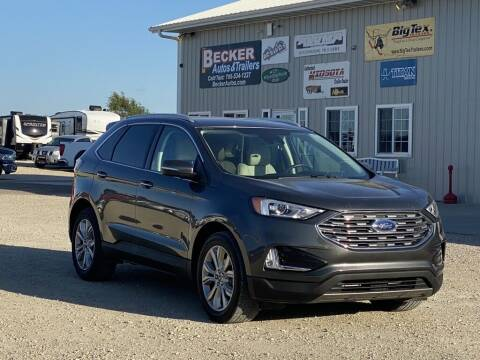 2019 Ford Edge for sale at Becker Autos & Trailers in Beloit KS