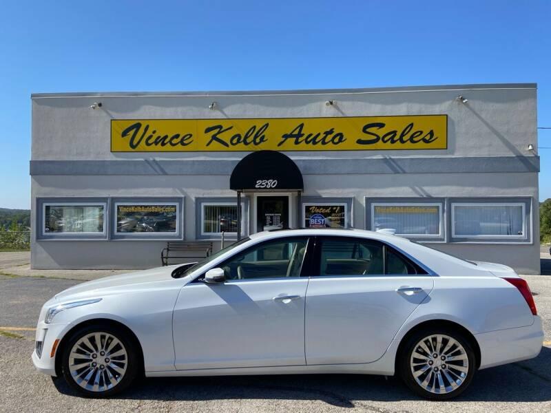 2016 Cadillac CTS for sale at Vince Kolb Auto Sales in Lake Ozark MO
