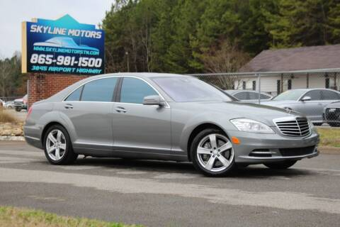2010 Mercedes-Benz S-Class for sale at Skyline Motors in Louisville TN