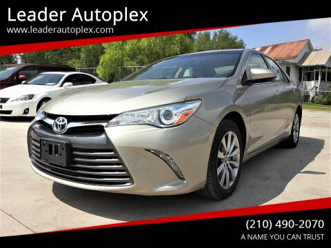 2015 Toyota Camry Hybrid for sale at Leader Autoplex in San Antonio TX