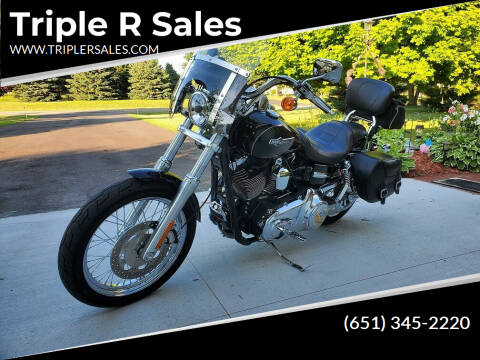 2012 Harley-Davidson Dyna Superglide FXDC for sale at Triple R Sales in Lake City MN
