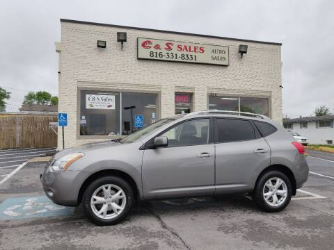2008 Nissan Rogue for sale at C & S SALES in Belton MO