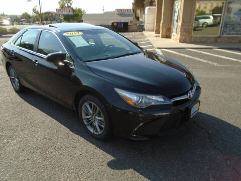 2017 Toyota Camry for sale at Team D Auto Sales in St George UT