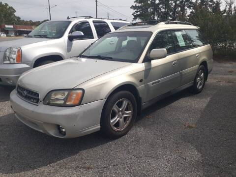 2004 Subaru Outback for sale at PIRATE AUTO SALES in Greenville NC