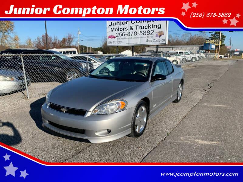 2006 Chevrolet Monte Carlo for sale at Junior Compton Motors in Albertville AL