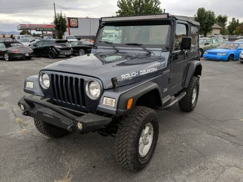 2001 Jeep Wrangler for sale at Silverline Auto Boise in Meridian ID