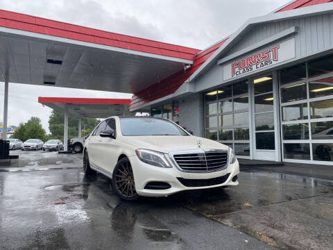 2015 Mercedes-Benz S-Class for sale at Furrst Class Cars LLC in Charlotte NC