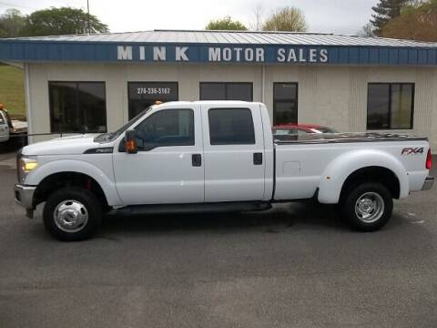 2012 Ford F-350 Super Duty for sale at MINK MOTOR SALES INC in Galax VA