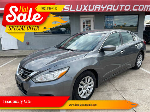 2018 Nissan Altima for sale at Texas Luxury Auto in Cedar Hill TX