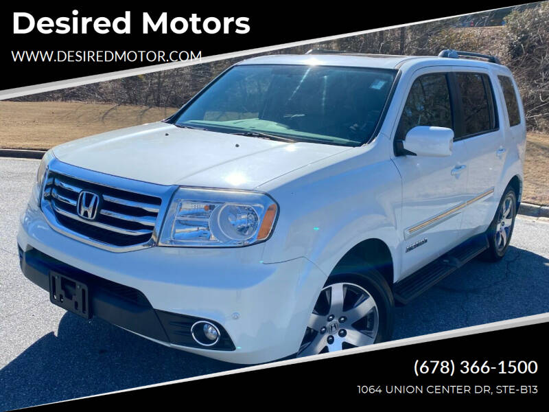 2013 Honda Pilot for sale at Desired Motors in Alpharetta GA