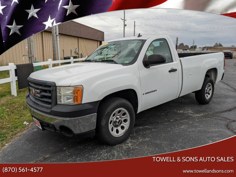 2008 GMC Sierra 1500 for sale at Towell & Sons Auto Sales in Manila AR