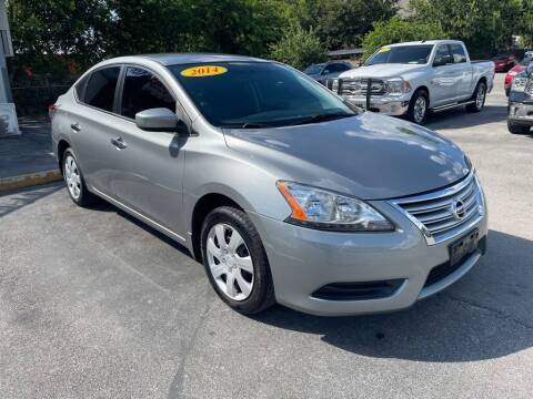 2014 Nissan Sentra for sale at Auto Solution in San Antonio TX