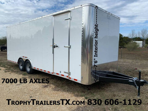 2021 CARGO CRAFT  8.5X24 RAMP  for sale at Trophy Trailers in New Braunfels TX
