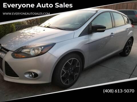 2013 Ford Focus for sale at Everyone Auto Sales in Santa Clara CA